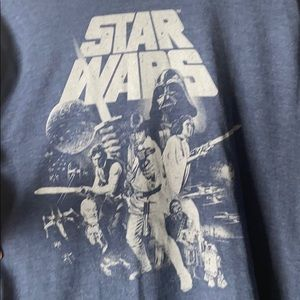 Blue Star Wars Graphic tee